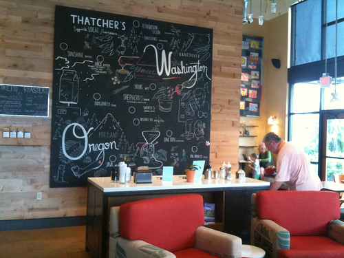 Thatcher's Coffee in Vancouver, WA