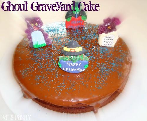 食尸鬼墓地蛋糕