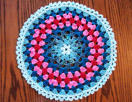 14-inch Blue/Pink Mandala