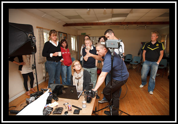 behind the scenes at the lighting workshop