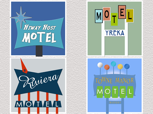 Old Motel Signs