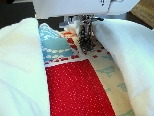 Quilting without pins!