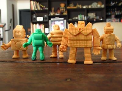 rubber bots