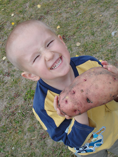 Jabin with Bob the Potato 2