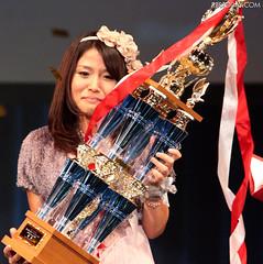 100928(2) - ANIMAX「2010年第四屆日本動畫歌曲大獎賽」冠軍得主為「河野万里奈」,預定於2011年正式出道!
