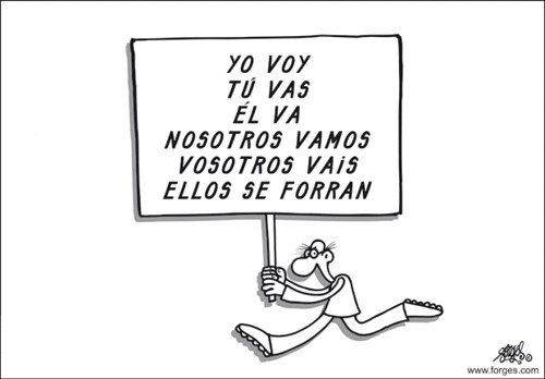 Huelga general por Forges
