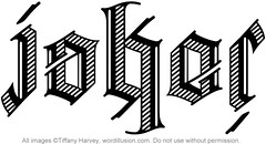 """Joker"" Ambigram"