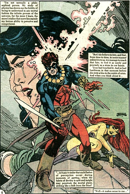 Gil Kane splash page from Sword of the Atom Special 1 1984