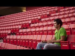 rythm (Gerardography) Tags: red color colors canon 50mm alone stadium empty nobody estadio solo f18 18 nuevo vacio rythm chivas gdl ritmo 500d omnilife constast t1i