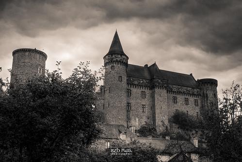 Château de Vitré vu depuis le Pré des Lavandières