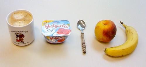 Nektarine, Banane & Obstgarten