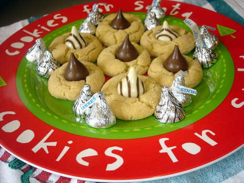 Plate of Peanut Blossoms