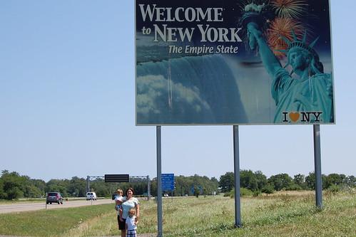 New York Border