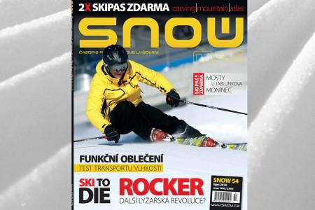 SNOW 54 + 2x SKIPAS ZDARMA