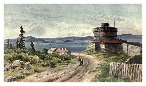 015-Reducto y puerto de Halifax-Canada-1907- Thomas Martin Mower