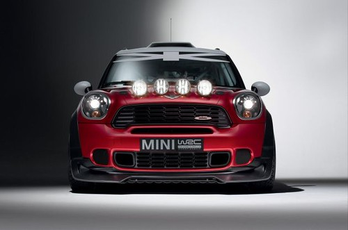 MINI Countryman WRC in Paris