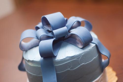 Emma's Ribbon Cake