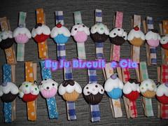 Prendedores de Mantimentos (Ju Biscuit e Cia) Tags: biscuit prendedor mantimentos