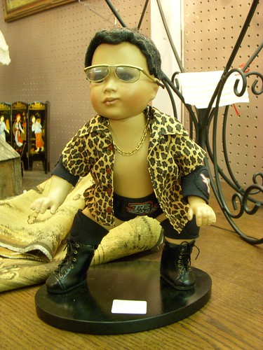 "Baby Dwayne ""The Rock"" Johnson Doll"