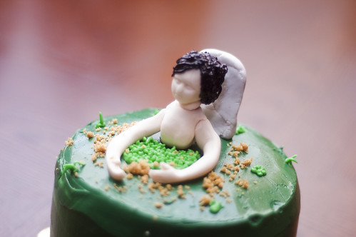Emma's Zombie Cake
