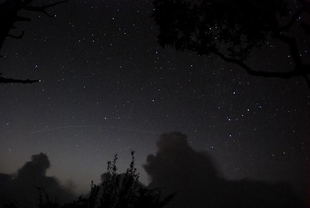 展望處的星空~真不錯