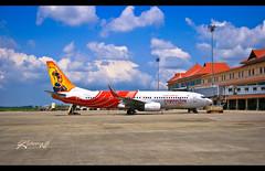Cochin - Just before CRPF guard caught me :) (cishore™) Tags: india dancers air kerala express boeing hyderabad nisha cishore kishore kathakali bharatanatyam travell nagarigari vtaxe kishorencom 737800w