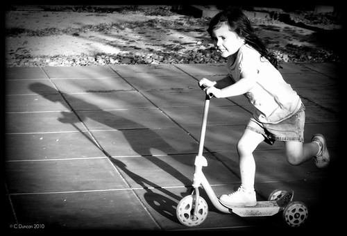 Scooting - 266/365
