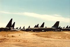 Amarc B-52's (wbaiv) Tags: amarc bone yard b52 d e f salt strategic arms limitation treaty ii military aircraft usa airplane plane outdoor vehicle