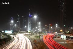 Kuwait City (Sadeq Nader Abul) Tags: city night canon aperture mark ii 5d kuwait nader sadeq  abul