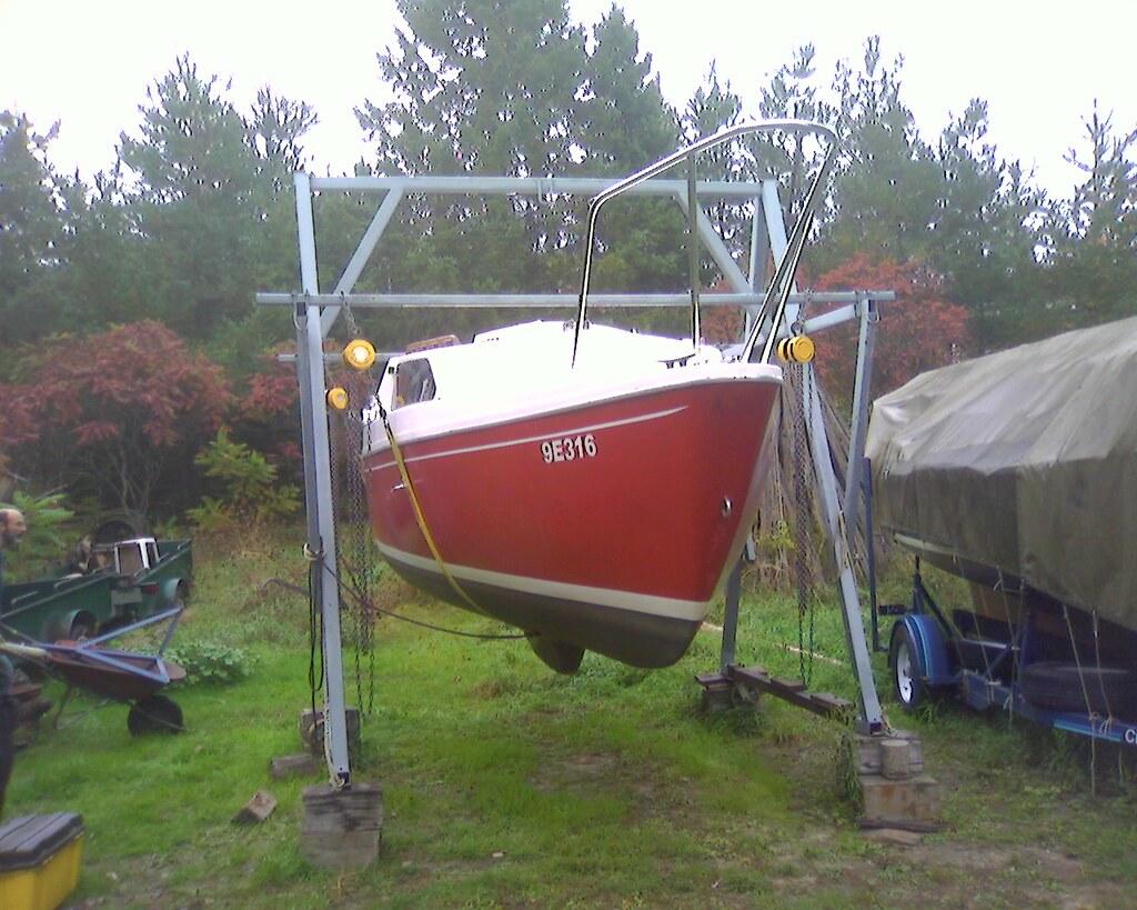 Homemade Boat Engine Hoist - Homemade Ftempo