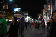 Yonge & Dundas at Nuit Blanche