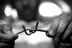 A magical trick! (Motaz Sonbol) Tags: bw black canon eos freedom break escape power lock dream free trick magical locked bnw 450d