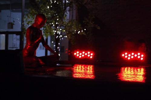 Burning Buddha