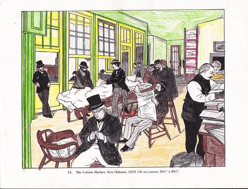 Edgar Degas Coloring Page