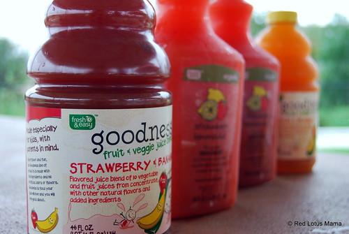 Fresh & Easy juices