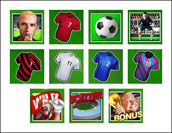 free Football Rules slot game symbols