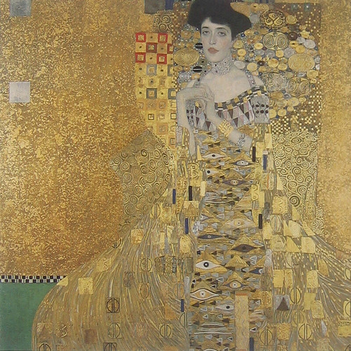 Adele Bloch-Bauer I, Gustav Klimt, 1907