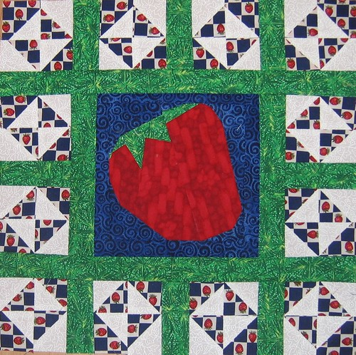 Strawberry Mini Quilt