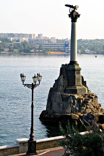 Севастополь: Памятник затопленным кораблям