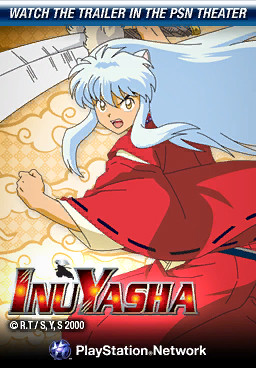 InuYasha in PlayStation Home