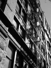 FireEscapism (Street Witness) Tags: street camera building digital fire escape samsung tenement nolita nv7