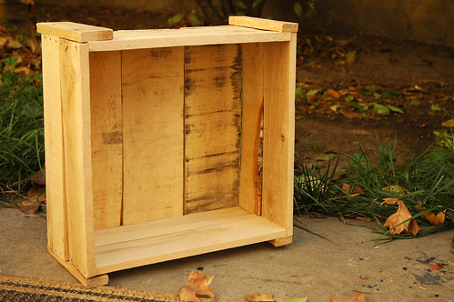 Project 1 - Crate from Reclaimed Wood