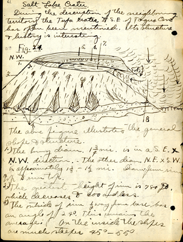 Ochsner 1905-06 Galapagos field notes