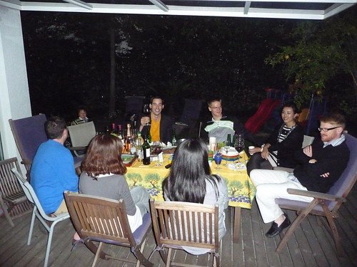 Some of the guests at our BBQ