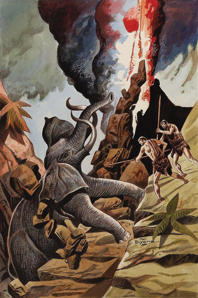 Pat Boyette - Korg: 70,000 B.C. #8