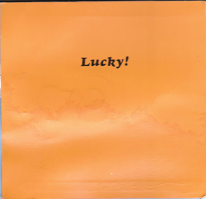 Lucky! card inside