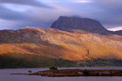 Slioch and Loch Maree, Wester Ross, North-west Scotland (iancowe) Tags: mountain mountains scotland ross highlands scottish loch maree lochmaree slioch gairloch westerross munro wester kinlochewe sleaghach