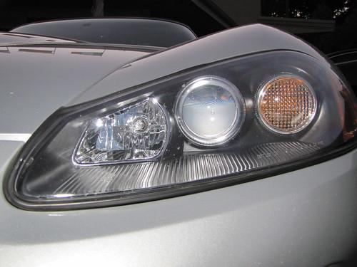 2004 Dodge Viper head lights