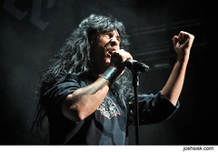 Joey Belladonna of Anthrax.