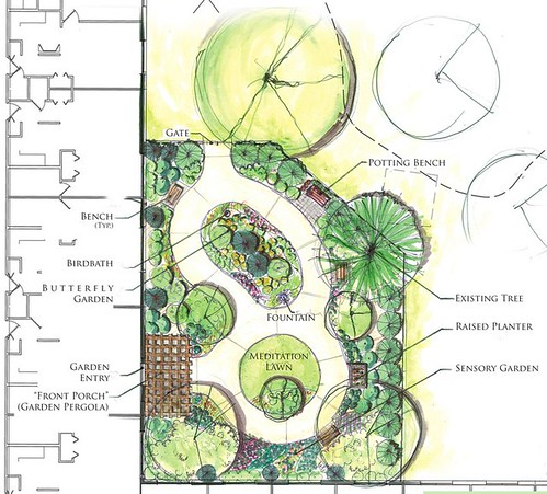 A garden for the elderly fosters a personal brand of sustainability